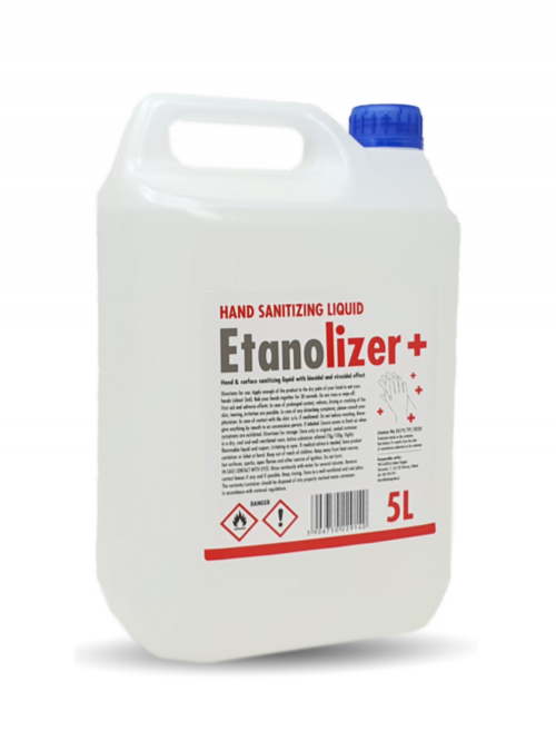 Hand Sanitiser Drum 5L